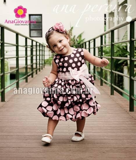 2fa4843aff Vestido de aniversario para menina de 1 ano