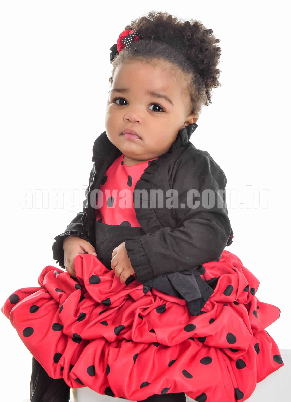 Vestido infantil da joaninha com casaco