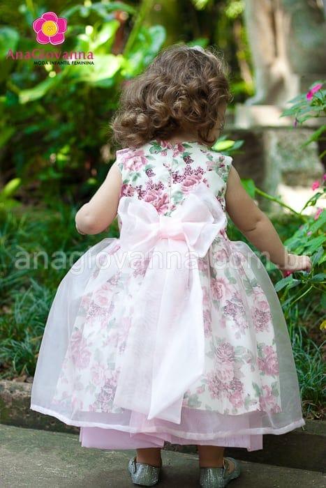 festa jardim infantil : festa jardim infantil:vestido jardim encantado Vestido de festa infantil jardim encantado