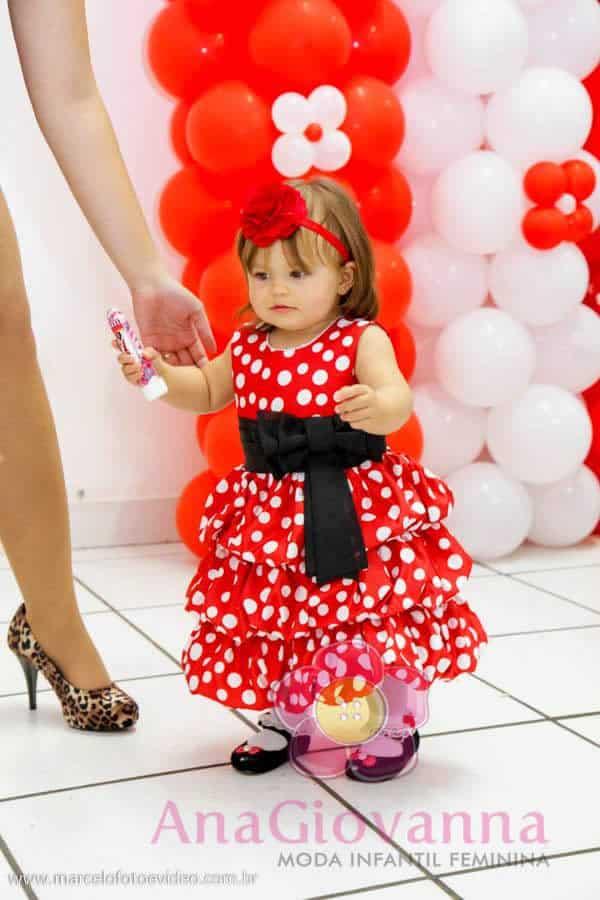 Festa da Minnie Vermelha  Blog Ana Giovanna