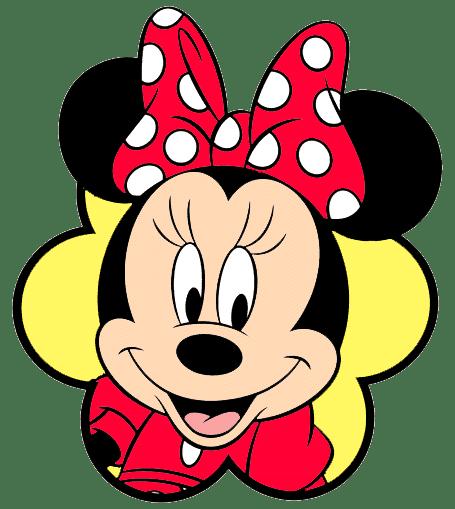 A Minnie vermelha