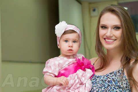 Vestido Minnie Rosa para Festa Infantil