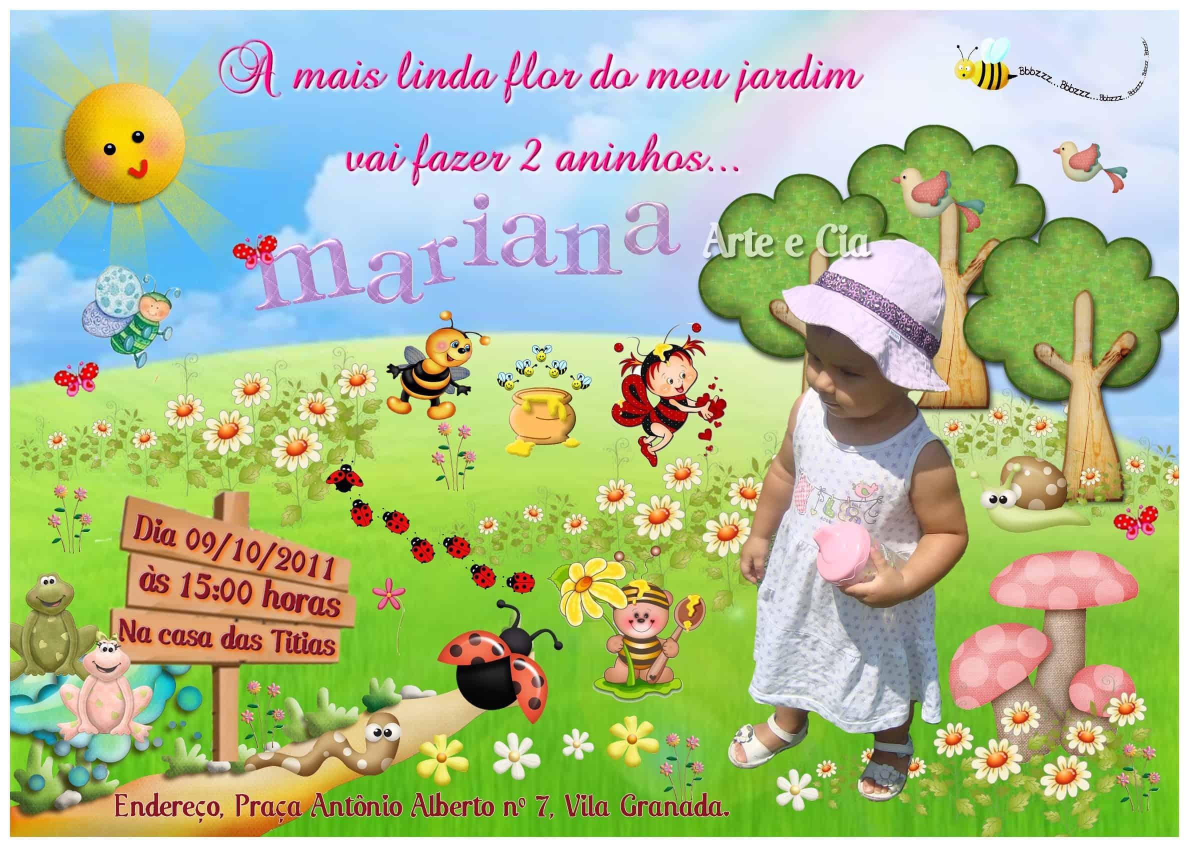 festa jardim encantado lembrancinhas:convite personalizado jardim encantado 1024×729 Festa Jardim Encantado