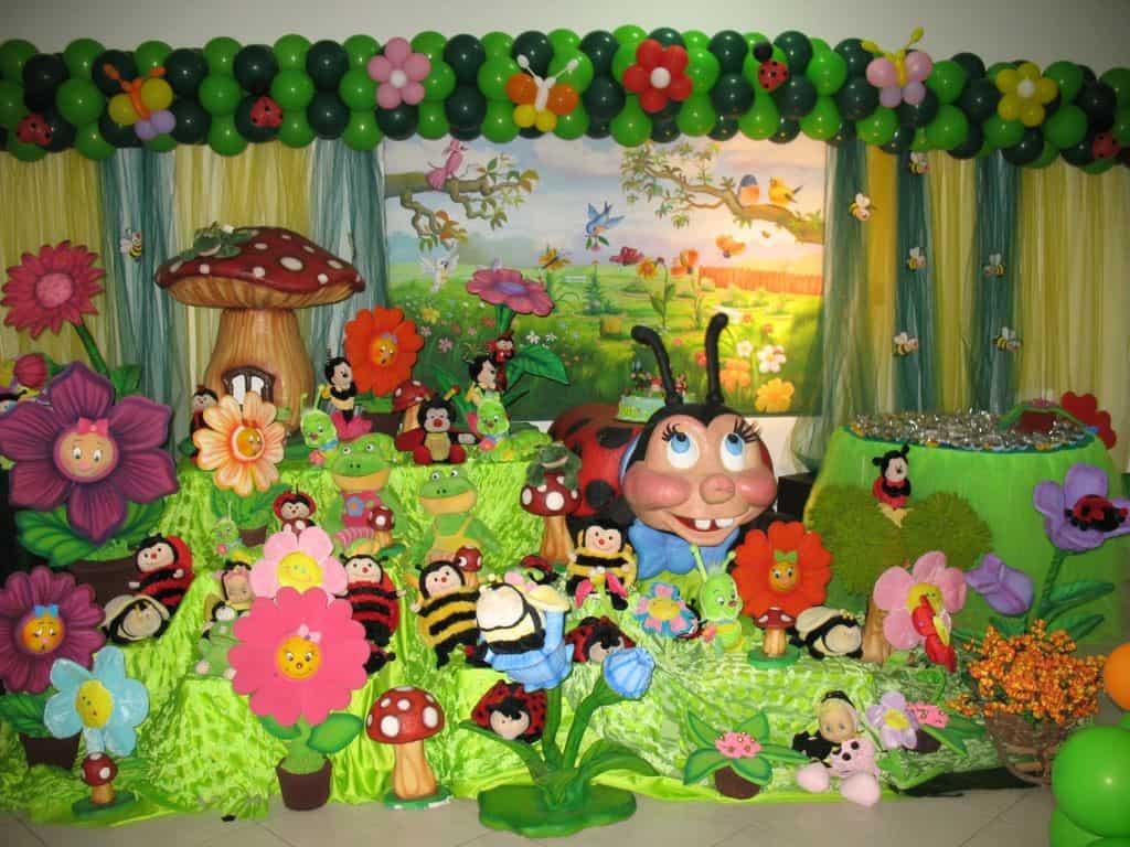 festa infantil com tema jardim encantado : Festa Jardim Encantado