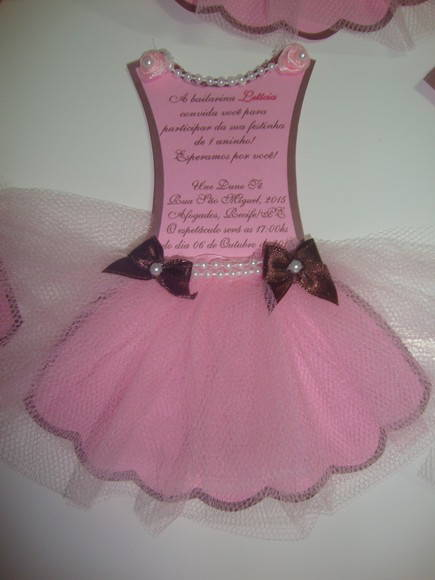 convite-de-bailarina-marrom-e-rosa