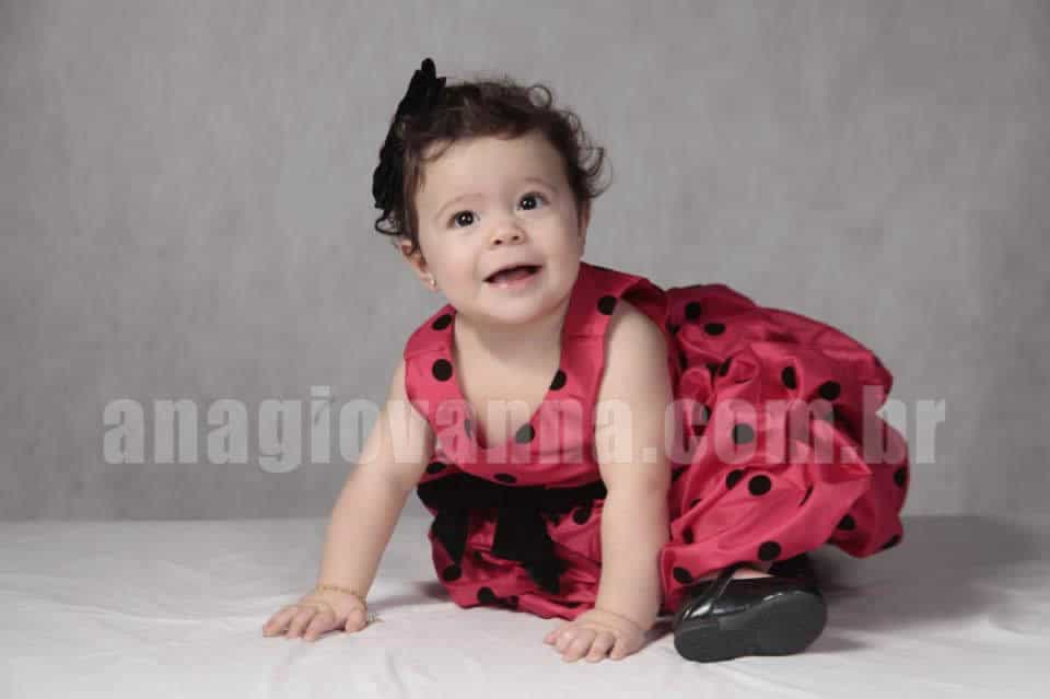 Vestido de festa infantil Joaninha