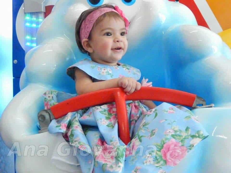 1 Vestidos de Festa Infantil Ana Giovanna