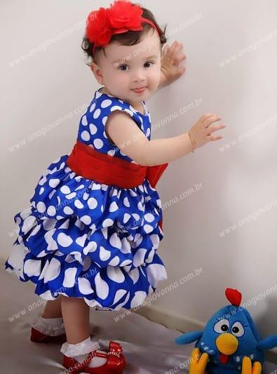 2a 118 Vestidos de Festa Infantil Ana Giovanna