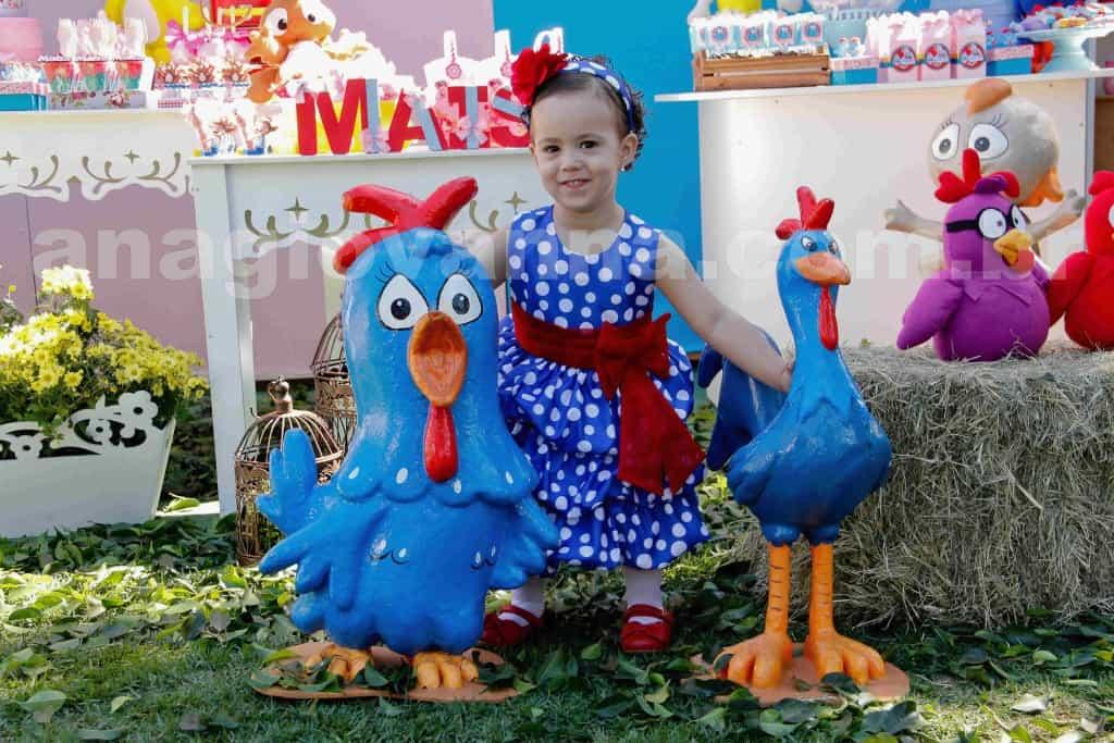 vestido da galinha pintadinha 1024x683 Galinha Pintadinha Ana Giovanna