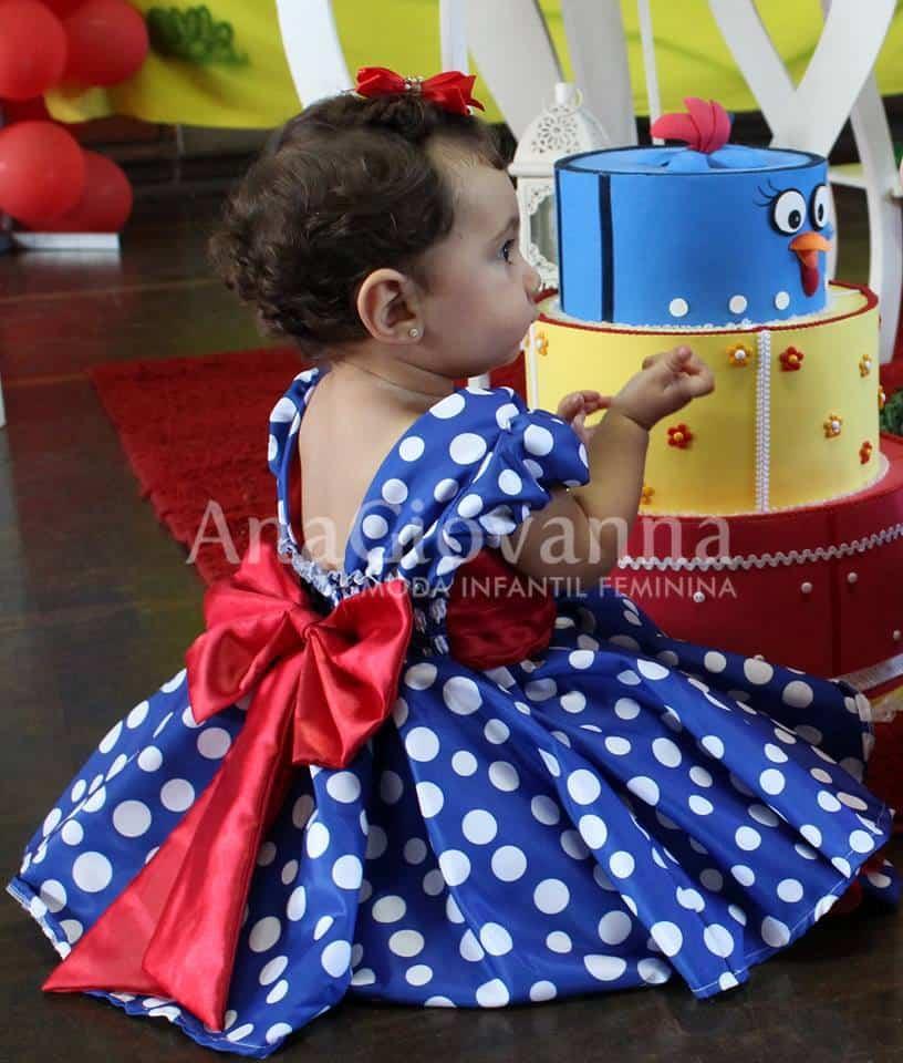 vestido festa galinha pintadinha Galinha Pintadinha Ana Giovanna