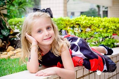 0030 Elas vestem vestidos infantil de festa Ana Giovanna