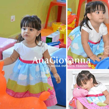 110 Elas vestem vestidos infantil de festa Ana Giovanna