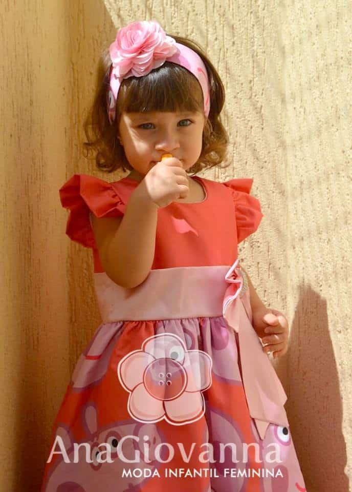25 Elas vestem vestidos infantil de festa Ana Giovanna