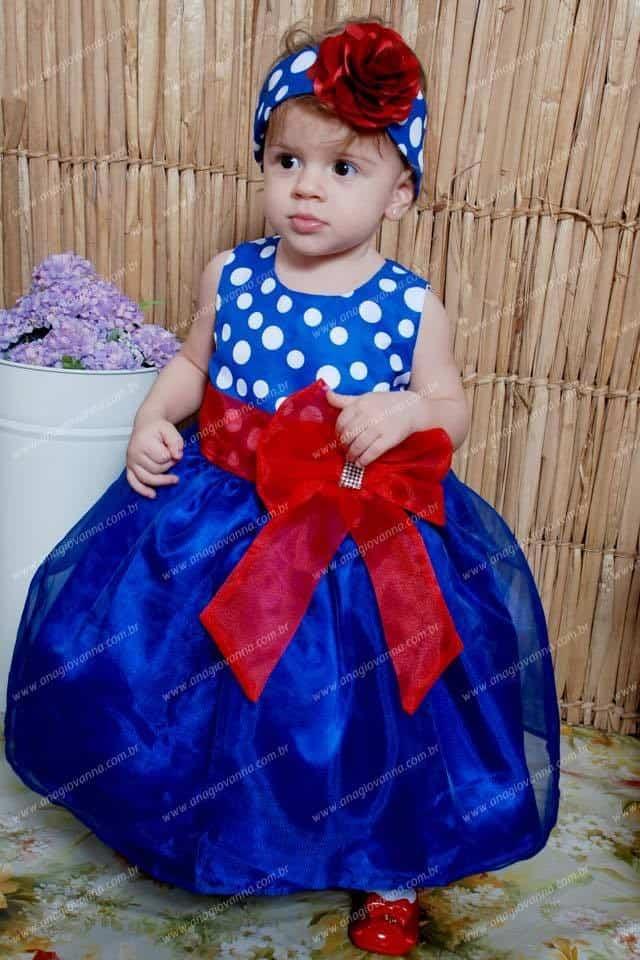 43 Elas vestem vestidos infantil de festa Ana Giovanna