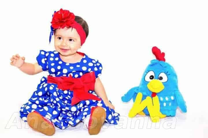 50 Elas vestem vestidos infantil de festa Ana Giovanna
