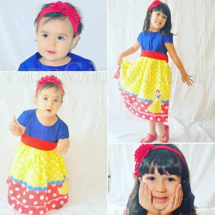 65 Elas vestem vestidos infantil de festa Ana Giovanna