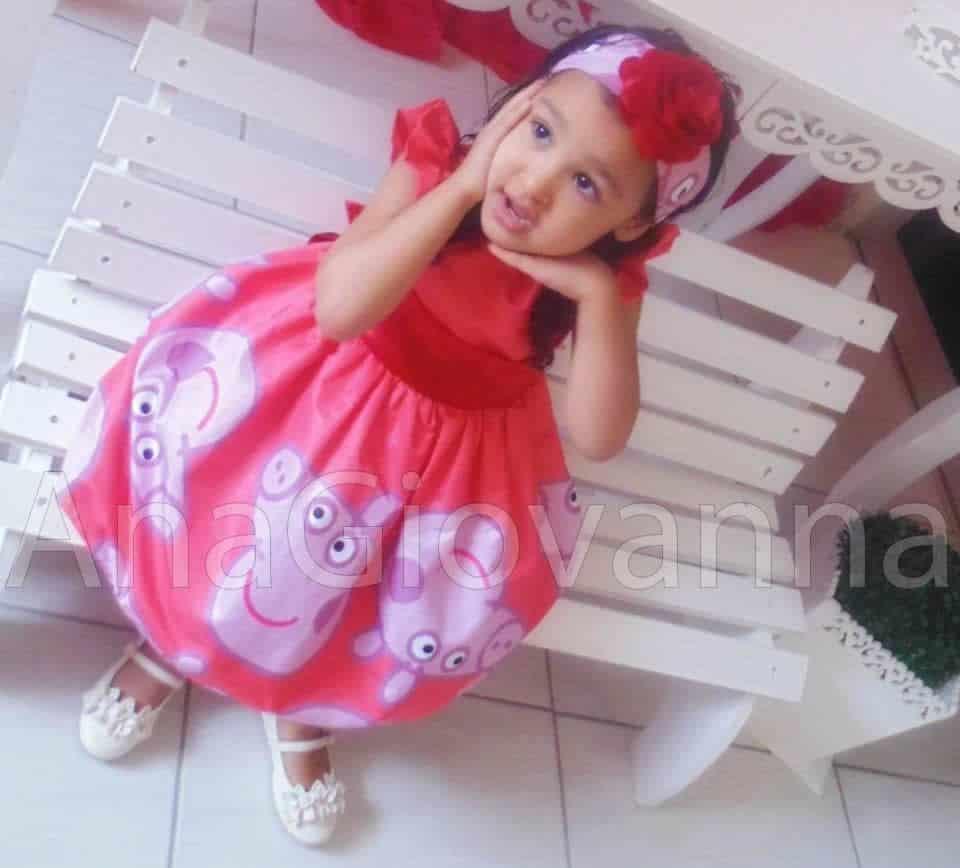 88 Elas vestem vestidos infantil de festa Ana Giovanna