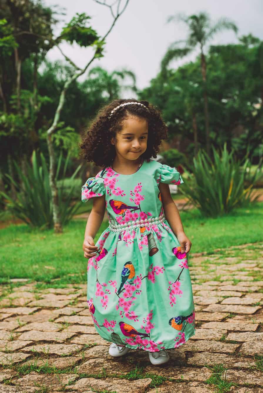 as 3 lindas 106 of 124 Elas vestem vestidos infantil de festa Ana Giovanna