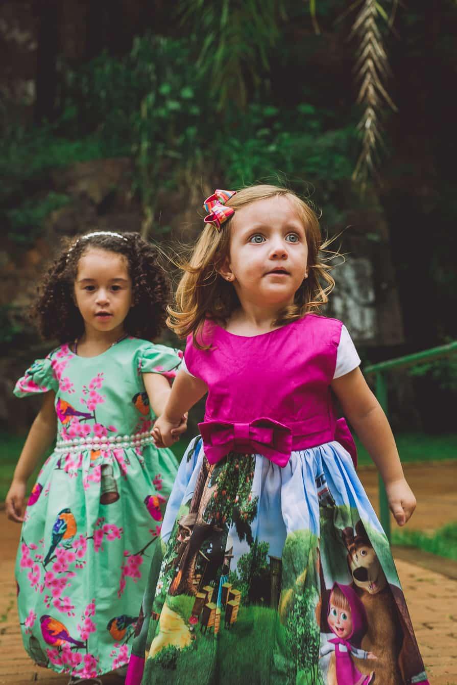 as 3 lindas 108 of 124 Elas vestem vestidos infantil de festa Ana Giovanna