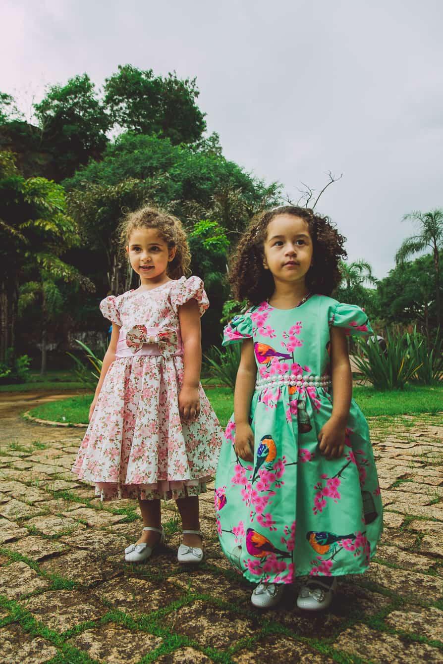 as 3 lindas 124 of 124 Elas vestem vestidos infantil de festa Ana Giovanna