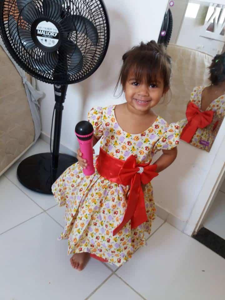clientepassarinhos Elas vestem vestidos infantil de festa Ana Giovanna