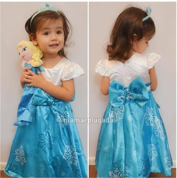 frozenmamaeplugada Elas vestem vestidos infantil de festa Ana Giovanna