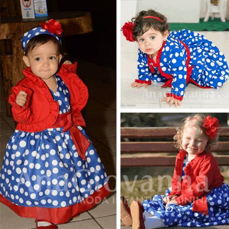 galinhapintadinha Elas vestem vestidos infantil de festa Ana Giovanna