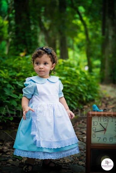 vestido alice no pais das maravilhas vestidos da alice no pais das maravilhas 1 Elas vestem vestidos infantil de festa Ana Giovanna