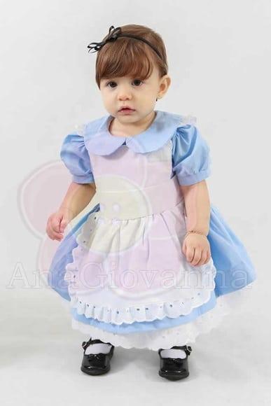 vestido alice no pais das maravilhas vestidos da alice no pais das maravilhas Elas vestem vestidos infantil de festa Ana Giovanna