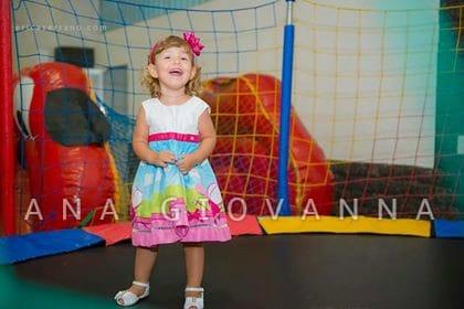 vestido peppa pig fada 5 Elas vestem vestidos infantil de festa Ana Giovanna