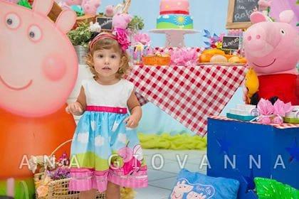 vestido peppa pig fada2 Elas vestem vestidos infantil de festa Ana Giovanna