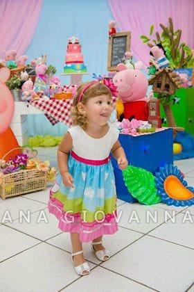 vestido peppa pig fada3 Elas vestem vestidos infantil de festa Ana Giovanna