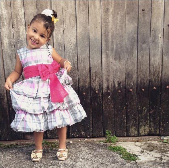 vestidoxadrez Elas vestem vestidos infantil de festa Ana Giovanna