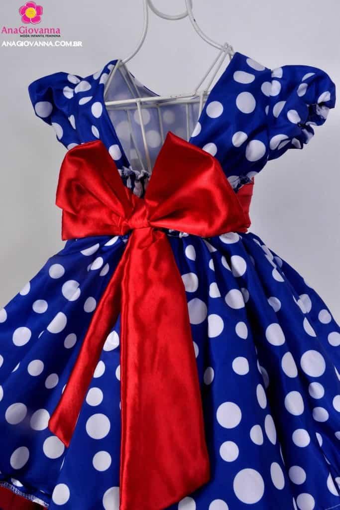 Vestido 1 ano Galinha Pintadinha
