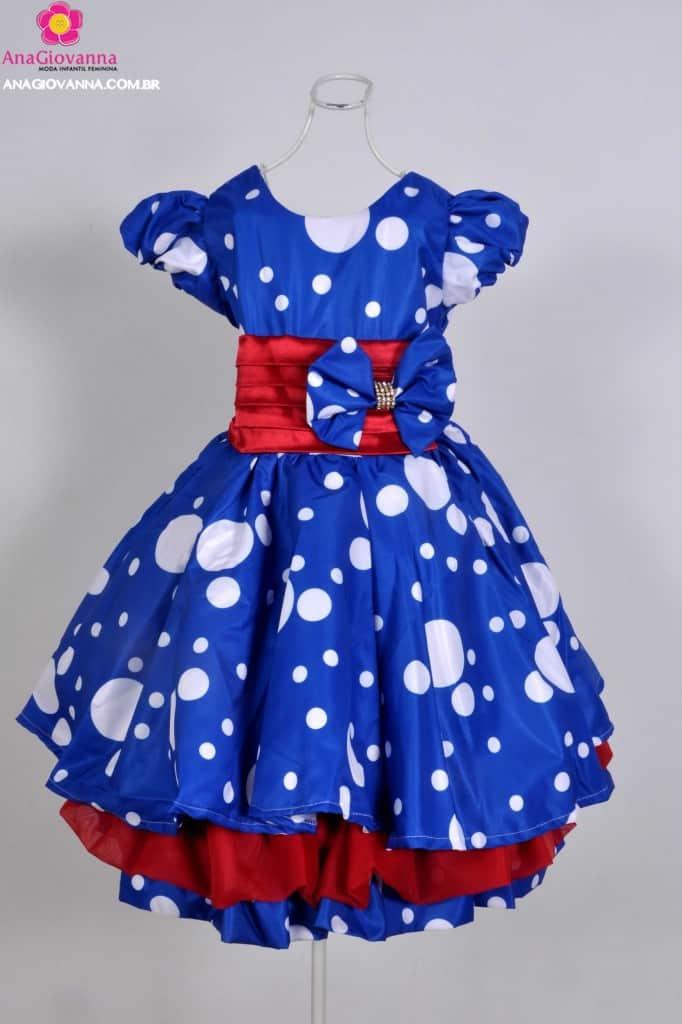 Vestido Galinha Pintadinha 1 ano