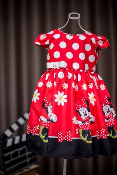 Moda Minnie Mouse Festa Infantil