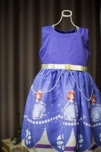 Vestido infantil - Festa Sofia