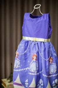 Vestido infantil festa Sofia