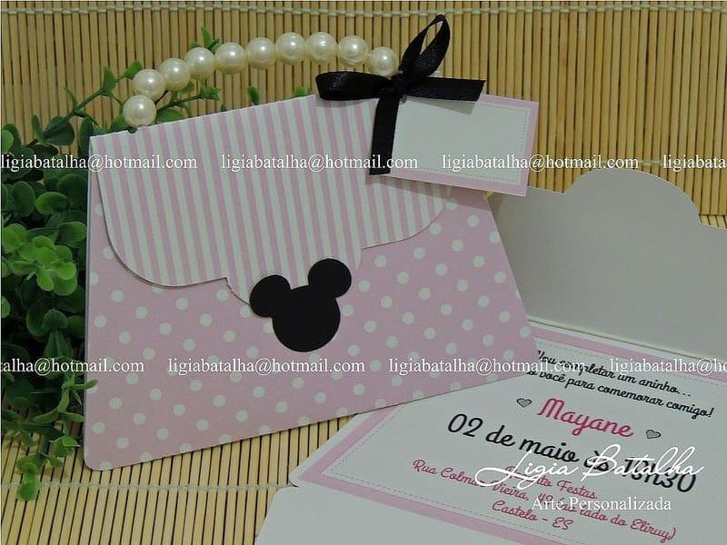 Dicas de convite para festa da Minnie