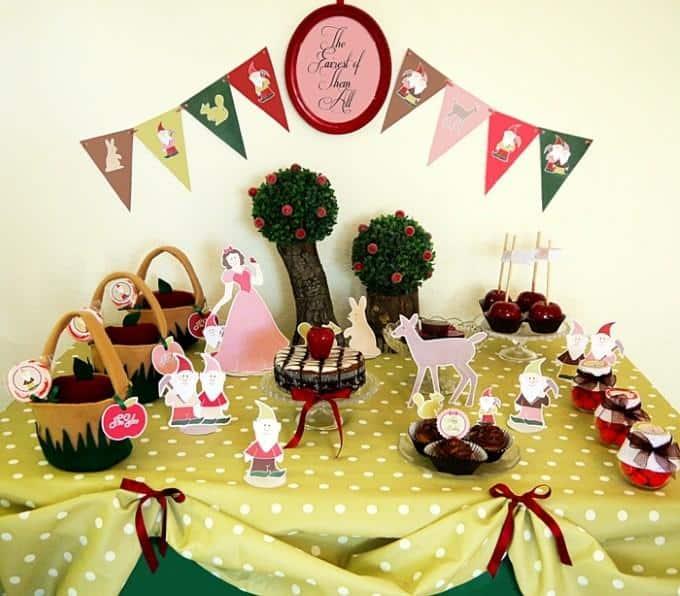 Festa infantil simples tema fazenda