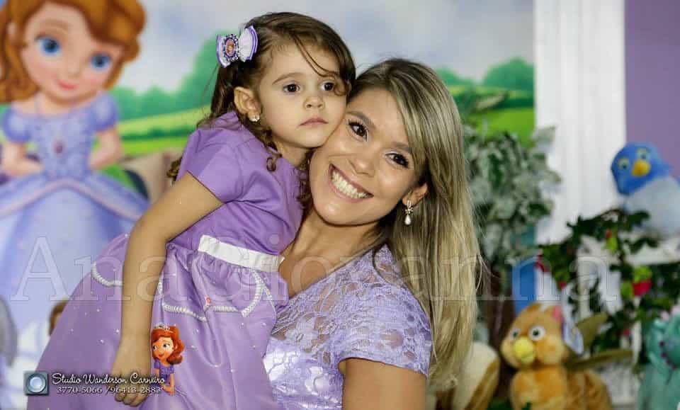 Mãe e Filha Princesa Sofia