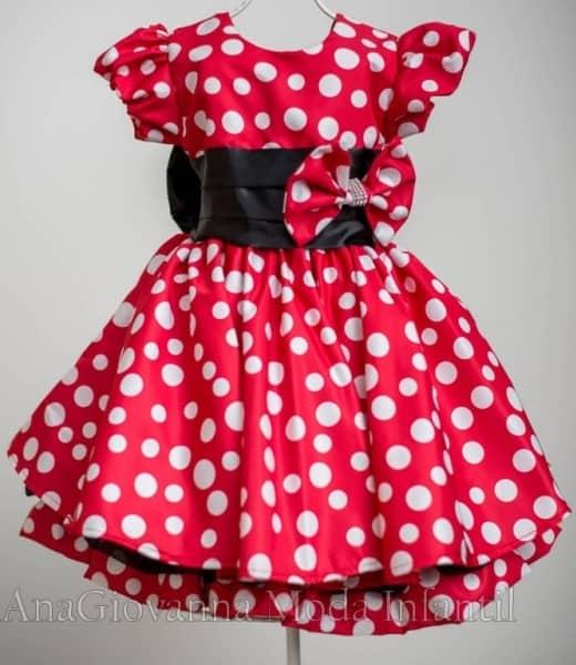 d2d90985ae Vestido Infantil de Festa – 30 modelos para aniversário - Blog Ana ...