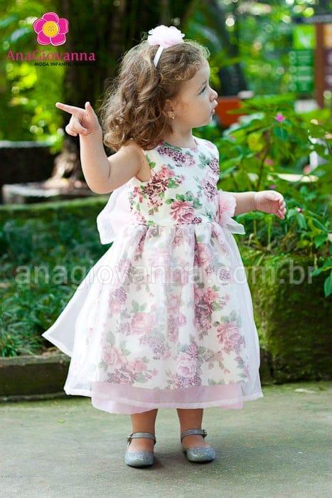 Vestido princesa jardim encantado