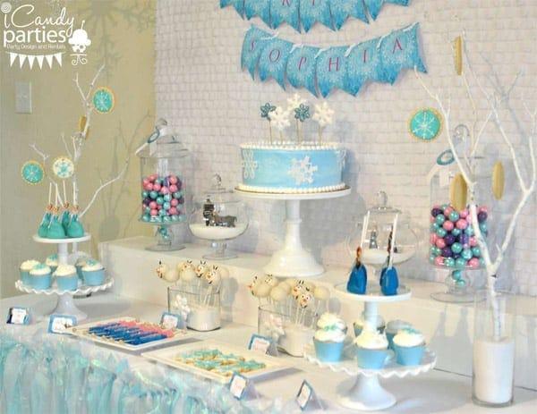 Decoracao Festa Infantil Frozen 3 Blog Ana Giovanna