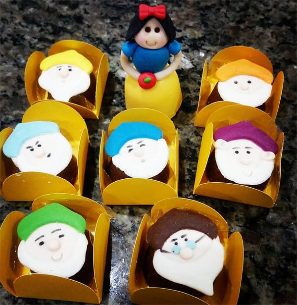 festa da Branca de Neve-tema-festa infantil