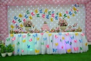 20 ideias para Festa Jardim Encantado, Borboletas