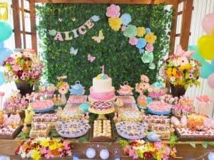 20 ideias para Festa Jardim Encantado, Candy color