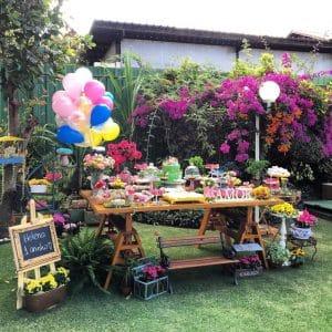 20 ideias para Festa Jardim Encantado, Festa externa