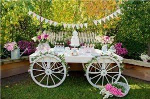 20 ideias para Festa Jardim Encantado, Mesa diferente