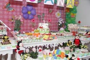 20 ideias para Festa Jardim Encantado, Muitos bichinhos